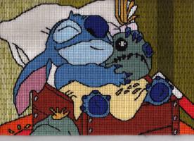 Goodnight Stitch by Alondra-chui