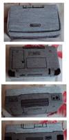 Fiber art DS game case by Alondra-chui