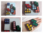 Tetris pieces: medium sized