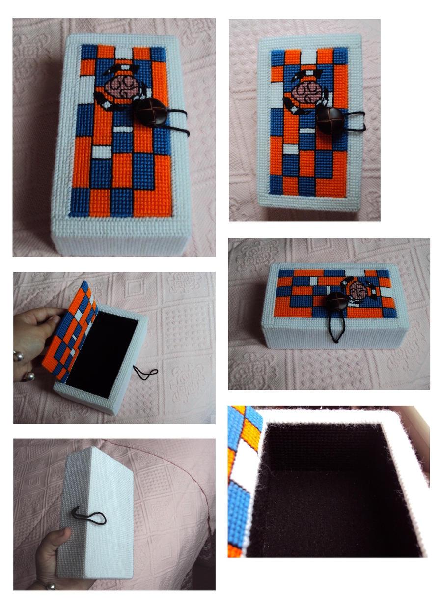 psycho-portal game case by Alondra-chui