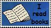 I read books stamp by Alondra-chui
