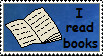 I read books stamp by Alondra-chui