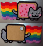 Jumbo double sided Nyan cat magnet