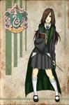 Slytherin card: Bettany Paula