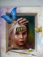 Portrait of Sofie (2) by MarkStolk