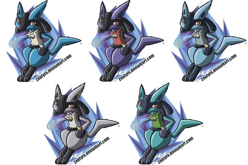 Shiny Mega Lucario Pokemon X And Y Battle Highlight PictureLucario Brawl White