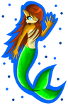 Comm - Sally Acorn Mermaid