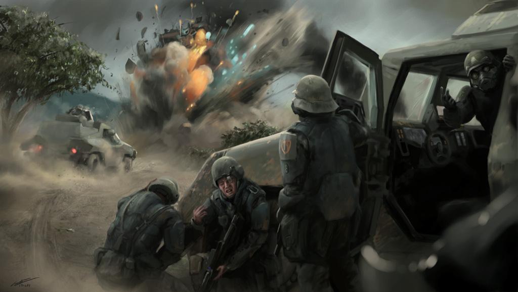 Ambush by godwinfj