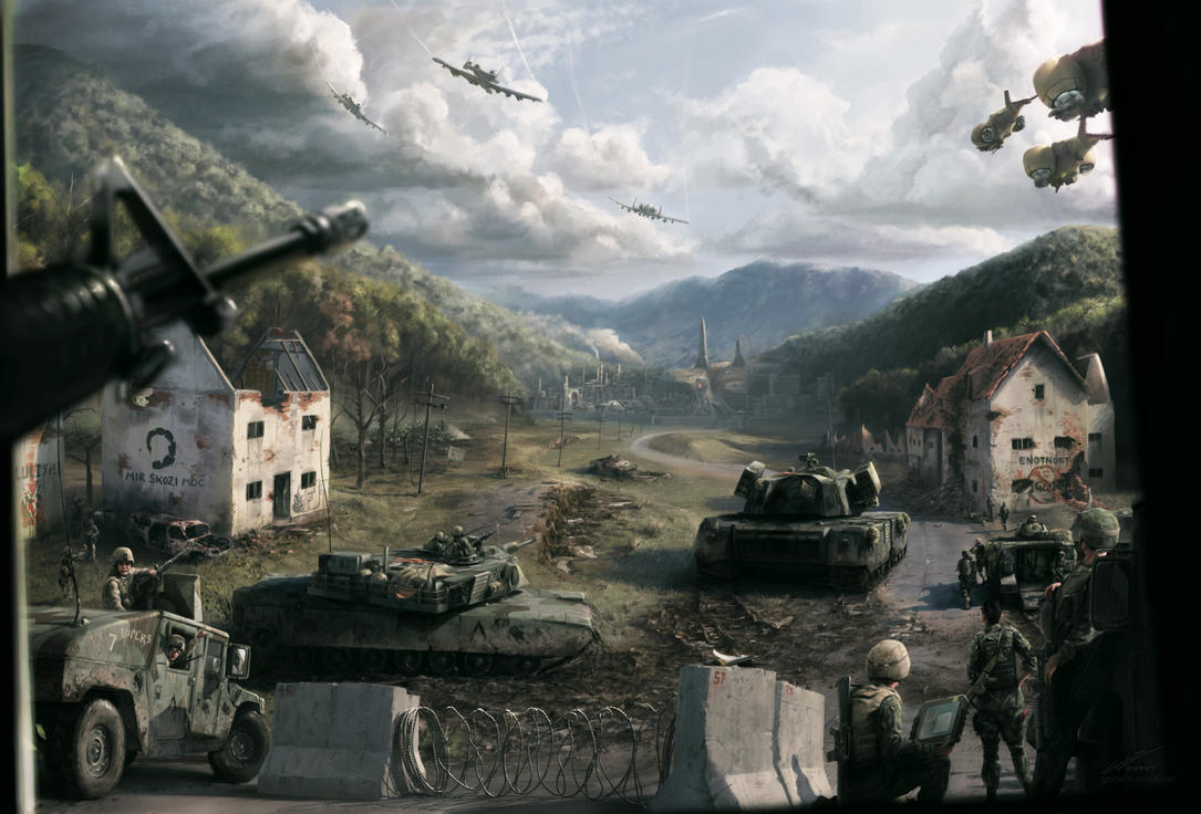 Command And Conquer Wallpaper: At Its Dawn By Godwinfj On DeviantArt