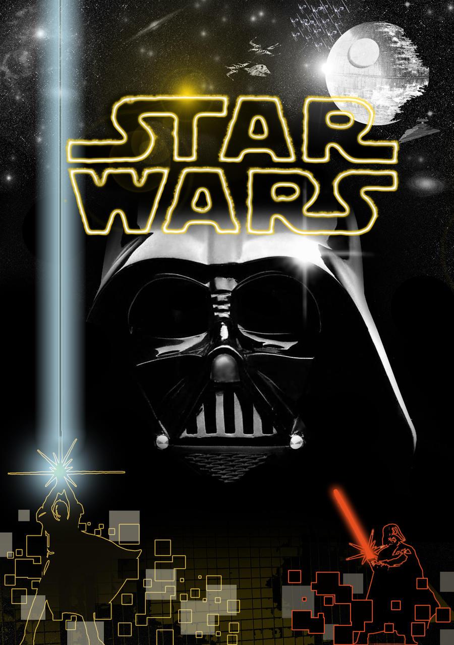 star wars affiche perso by capix80 on deviantart. Black Bedroom Furniture Sets. Home Design Ideas