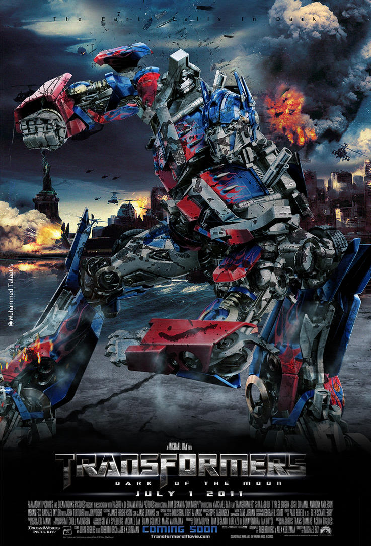 Transformers 3 Official Trailer 2011 Transformers 3 Poster 2011