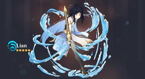 Genshin Impact oc: Lian