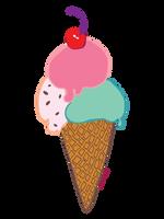 Ice cream by 0becomingX