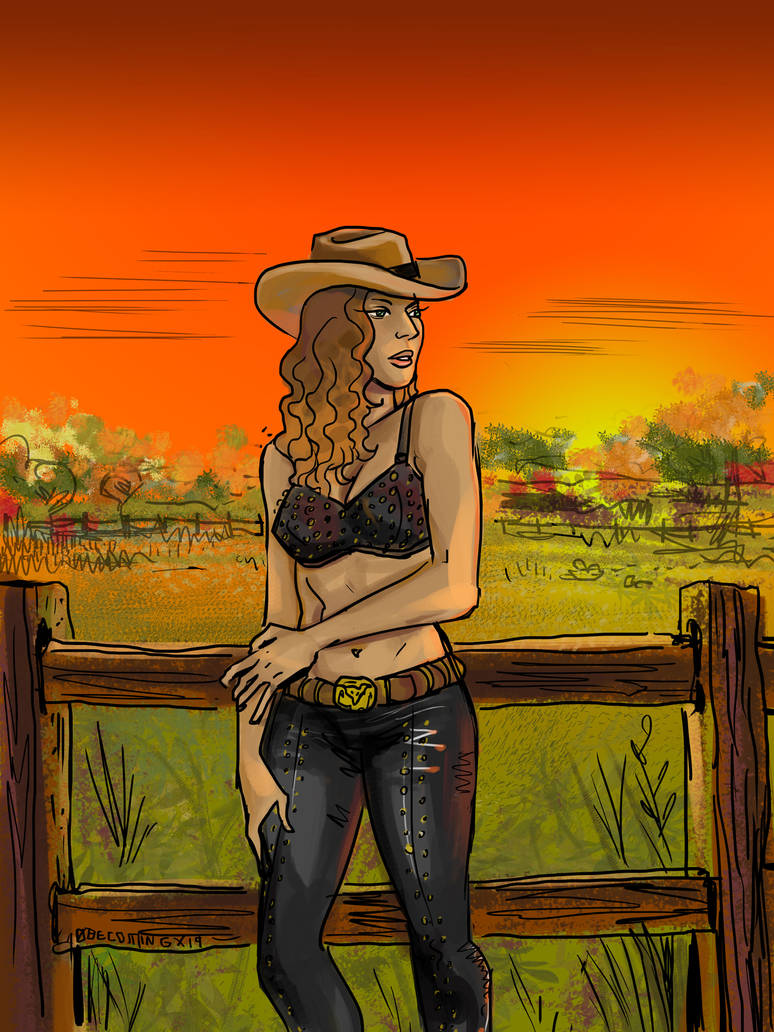Cowgirl by 0becomingX