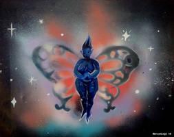Spray paint fairy