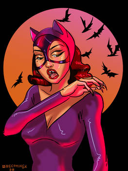 retro catwoman