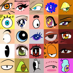 Eye collage