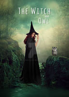 The Witch And Owl Fantasy Photo Manipulation