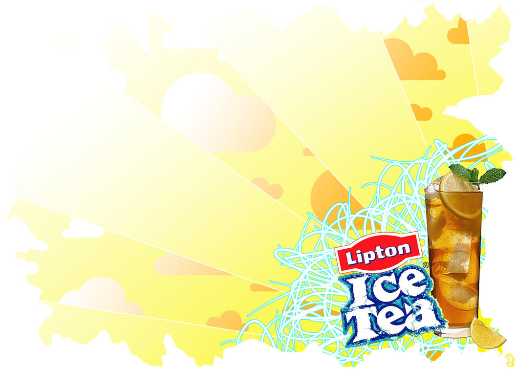 lipton ice tea paradise by fezakyuu on deviantart rh fezakyuu deviantart com  lipton ice tea logo vector
