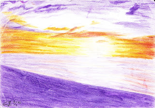 purple and gold by raindanceddin