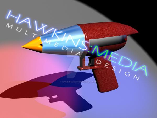 Space Dandy Blaster Gun by HawkinsMedia on DeviantArt