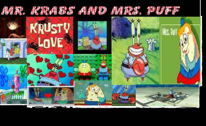 Mr. Krabs and Mrs. Puff