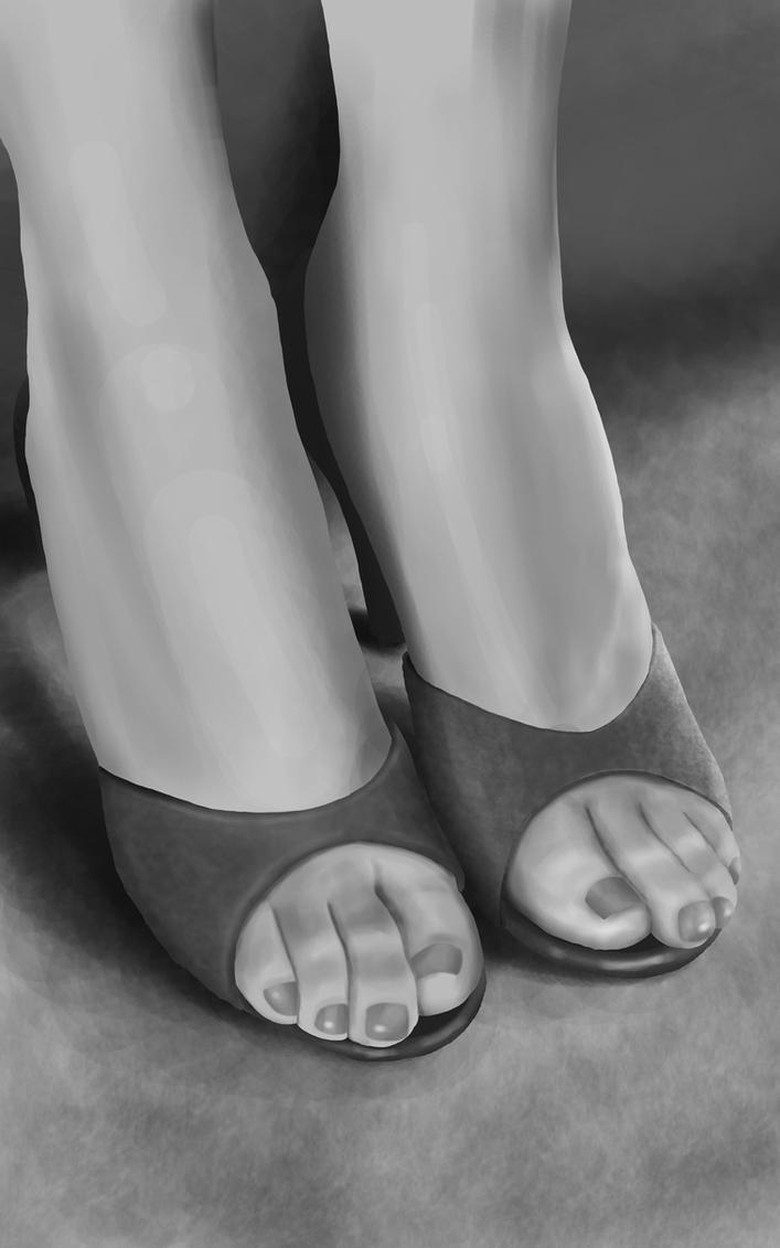 Miss Landers by Foot-Soldier