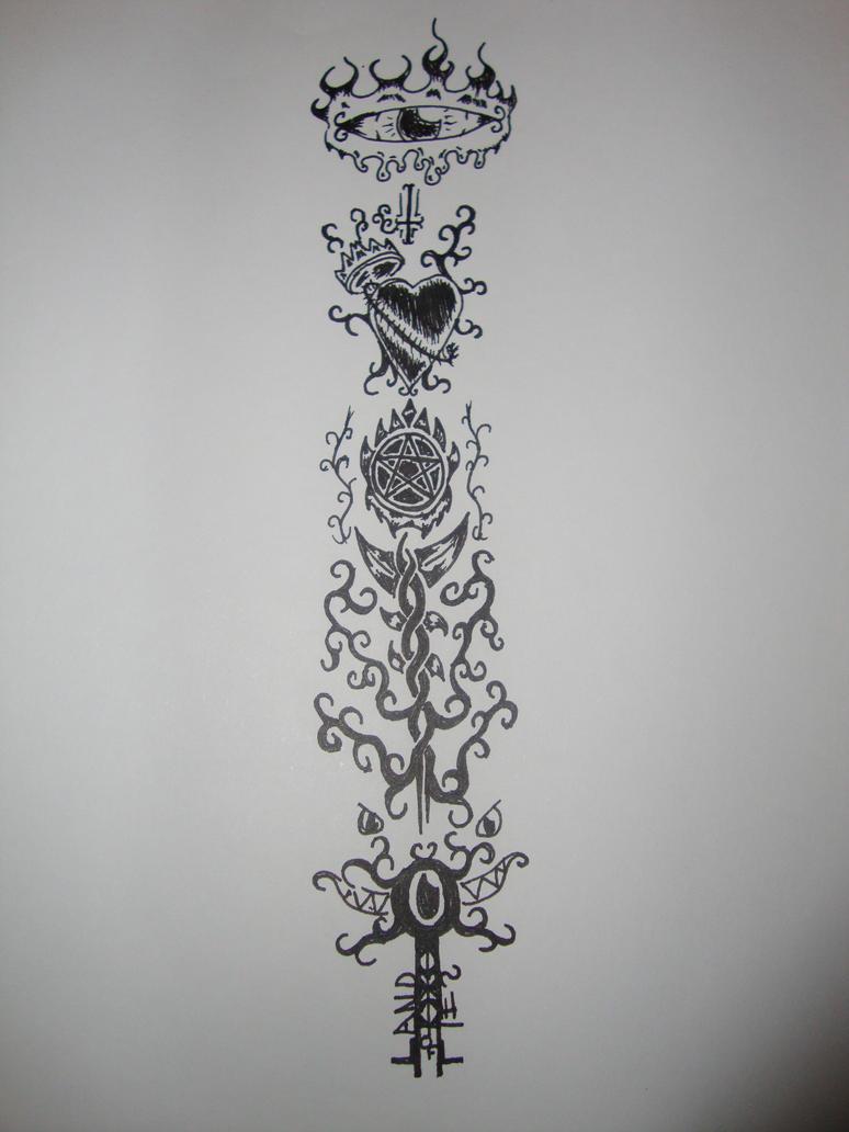 Land of Lies Sleeve - sleeve tattoo