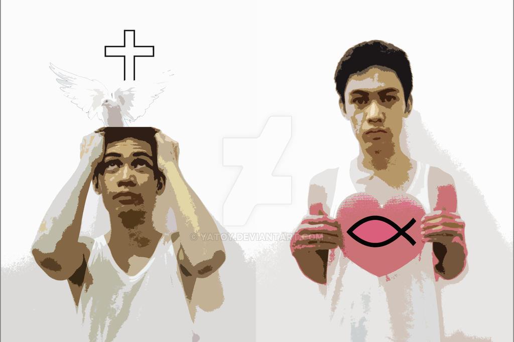 si Kristo sa Isip at Puso Concept  by yatoy