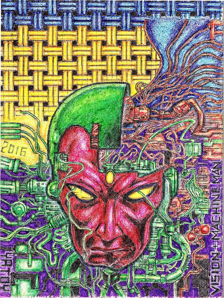 Vision + Machine Man + BWS by yatoy