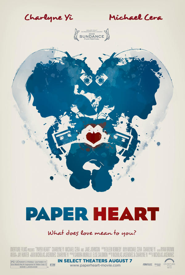 Paper Heart - Poster Contest by rachaelma on deviantART