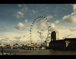 cloudy london