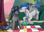 Lovely picnic [c] by ali-selle