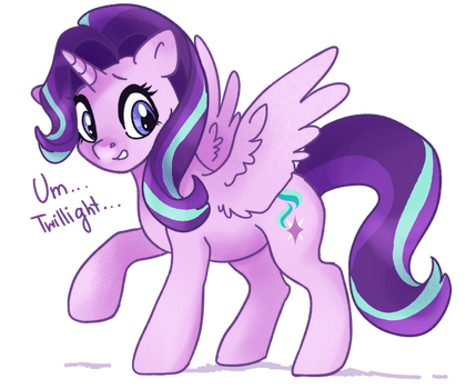 Twilight I need help [Starlight Glimmer]