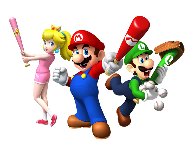 Mario Super Sluggers by Mariostriker0