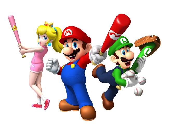 Mario Super Sluggers by Mariostriker0