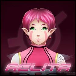 Code Lyoko - Aelita by Jyzee-Spirit