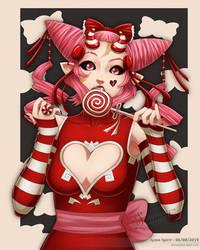 Candy Demon - JGeorgeDrawz's OC