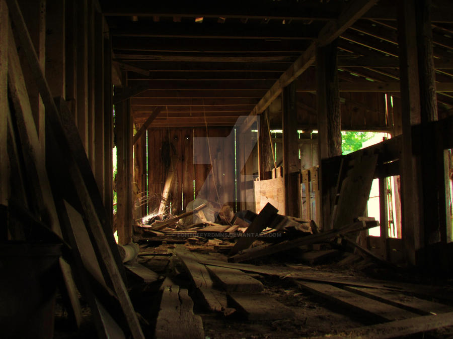 Inside The Abandoned Barn By Fght0ffyrdmns