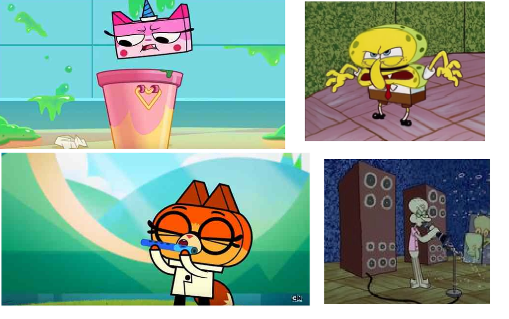 Even More Unikitty Portrayed By Spongebob Happaxgamma