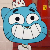 Gumball Smile Icon