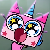 Unikitty Surprised Icon