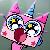 Unikitty Surprised Icon