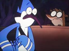 Rigby Wakes Up Mordecai