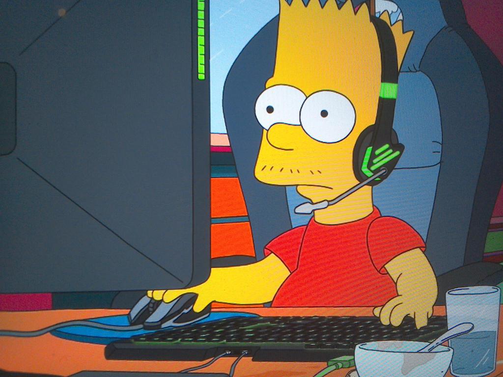 Le sosie de Bart Simpsons Bart_gaming_with_a_mustashe_by_happaxgamma_dd2ewol-fullview.jpg?token=eyJ0eXAiOiJKV1QiLCJhbGciOiJIUzI1NiJ9.eyJzdWIiOiJ1cm46YXBwOiIsImlzcyI6InVybjphcHA6Iiwib2JqIjpbW3siaGVpZ2h0IjoiPD03NjgiLCJwYXRoIjoiXC9mXC80ZDg3YjBmNC1hZTI2LTRiMTgtODM1Yy1hZjNhN2NlMTM0OWZcL2RkMmV3b2wtMTAxZmI5YTYtMmZkZC00ODFjLThiY2YtODQ0YTNhYWVjYzg0LmpwZyIsIndpZHRoIjoiPD0xMDI0In1dXSwiYXVkIjpbInVybjpzZXJ2aWNlOmltYWdlLm9wZXJhdGlvbnMiXX0