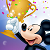 Mickey Mouse Award Icon