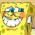 Spongebob Blushing Icon by happaxgamma