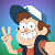 Gravity Falls Dipper Pines Icon by happaxgamma