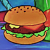 A Krabby Patty With Cheese The Classic Icon