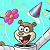Spongebob Sandy Cheeks Birthday Icon